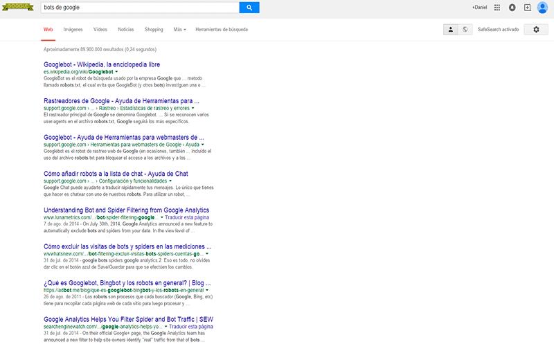 bots de google