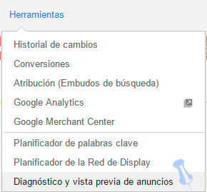 diagnostico anuncio adwords