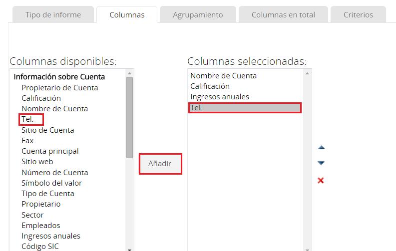 Añadir columna en la herramienta CRM Zoho