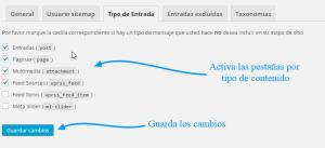 Cómo crear un sitemap.xml con SEO WordPress by Yoast 3