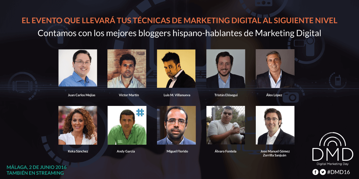 Exponentes Dígital Marketing Day