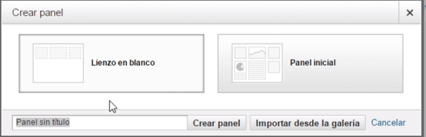 crear panel google analytics